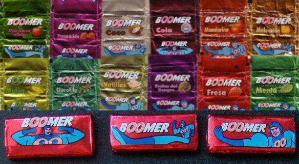 chicles boomer