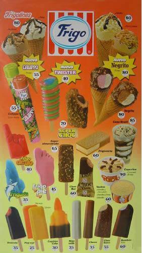 helados frigo anos 80