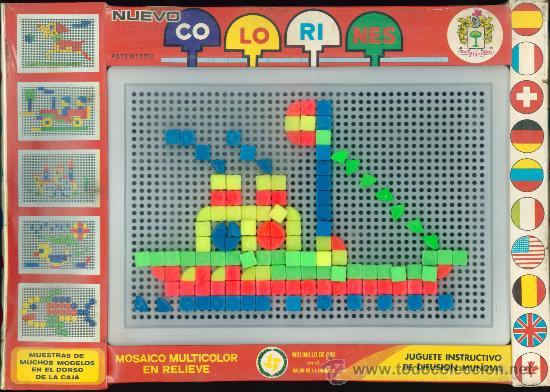 juego mosaicos pinchitos