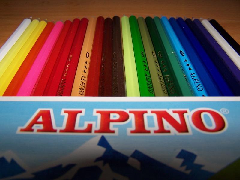 lapices colores alpino