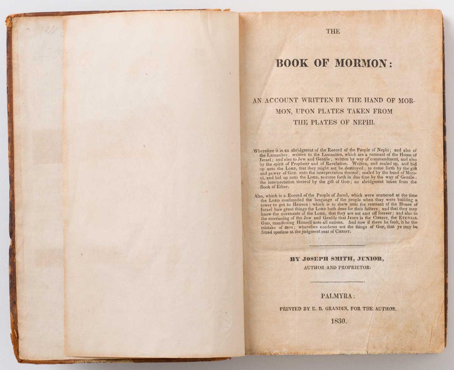 libro mormon
