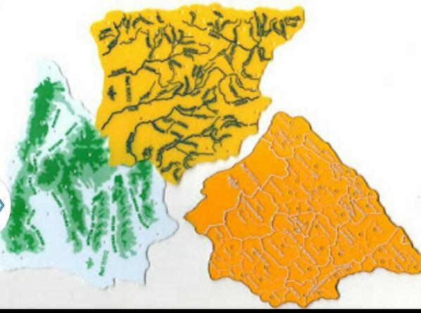 mapas plastico