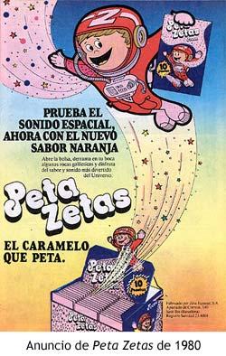 peta zetas 1980