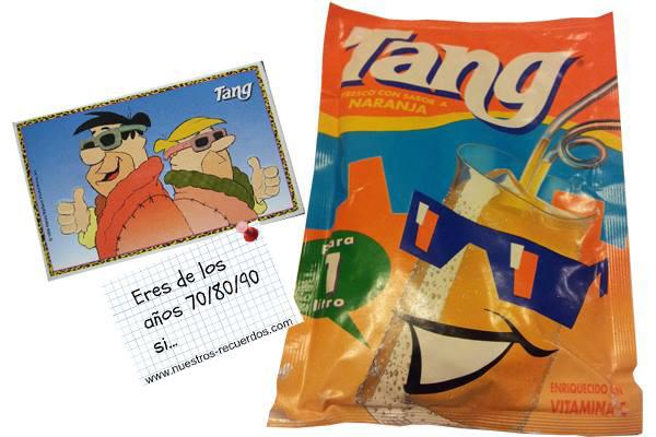tang naranja anos 80