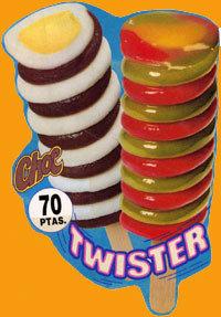 twister choc helados