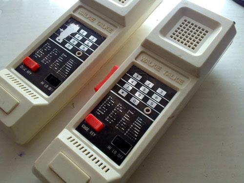 walkie talkie anos 80