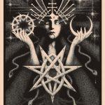 Ilustraciones oscuras de mitos, folclore y magia