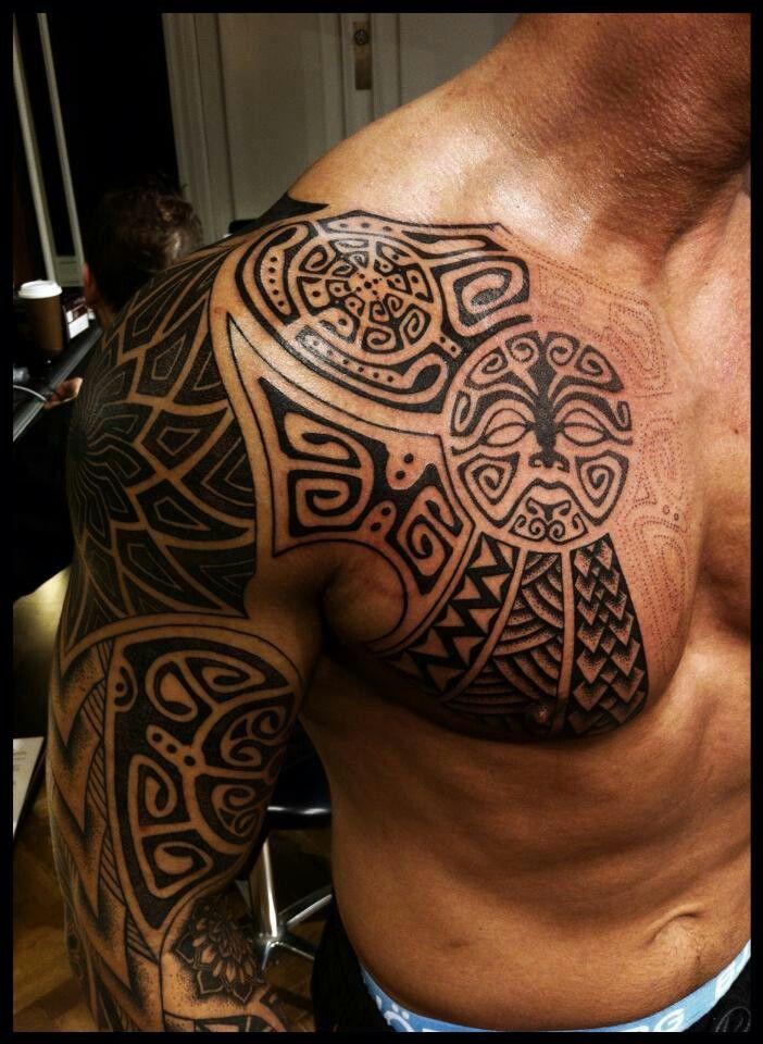 maori tatuaje