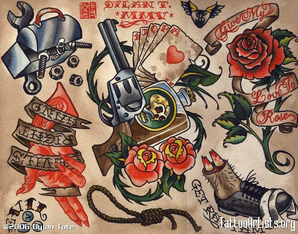 old school tatuaje