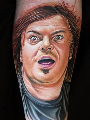tatuaje realista retratro