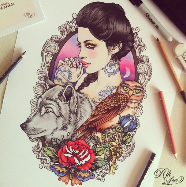 tatuajes ilustracion