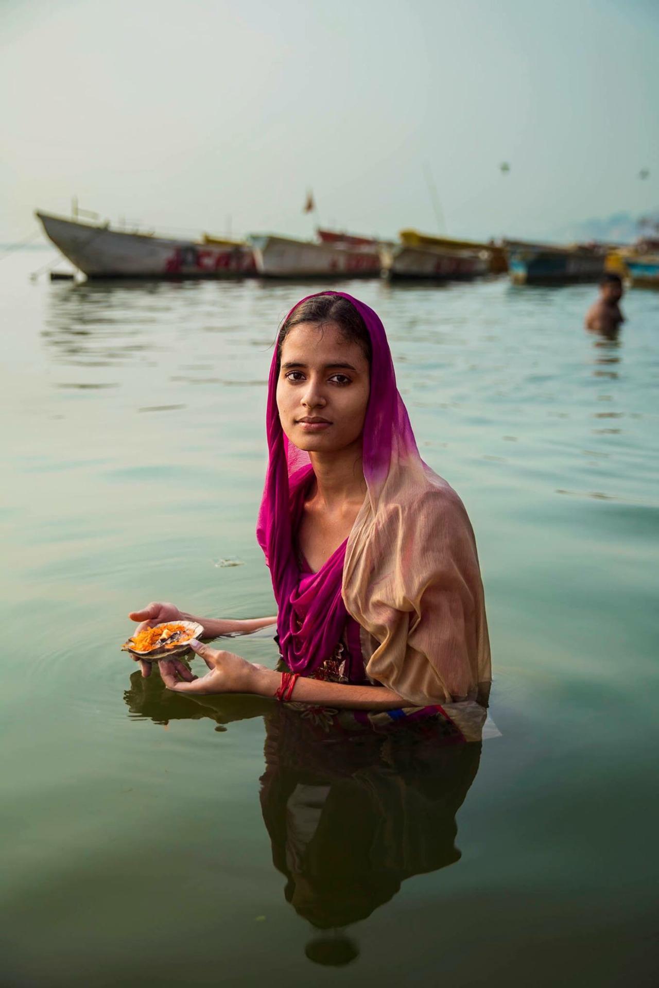 Mihaela Noroc benares india
