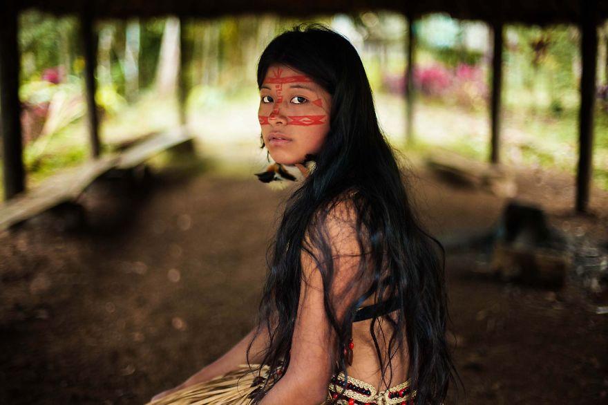 Mihaela Noroc bosque amazonico