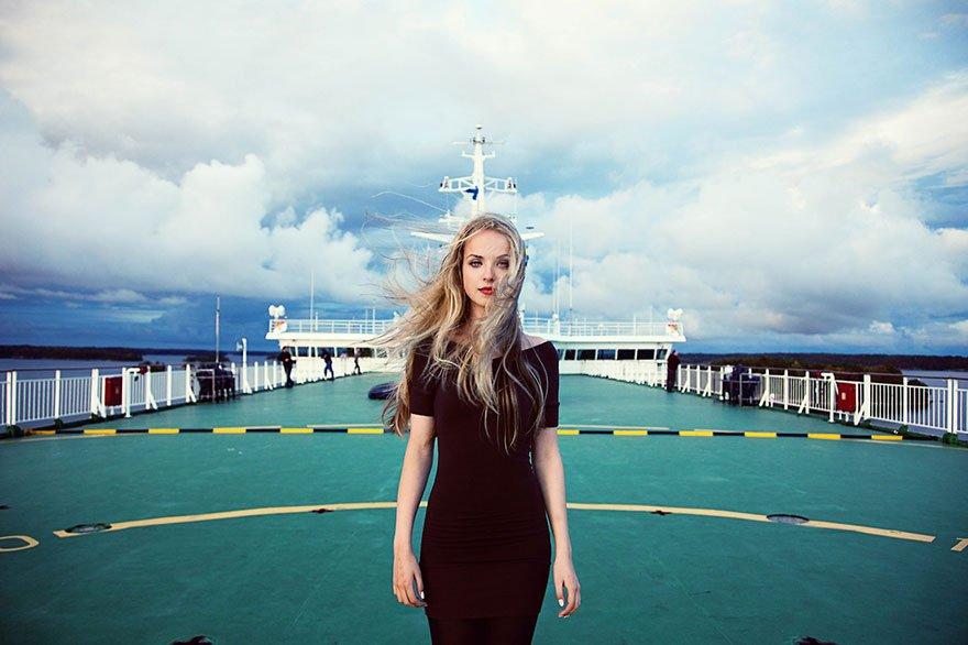 Mihaela Noroc mar baltico finlandia