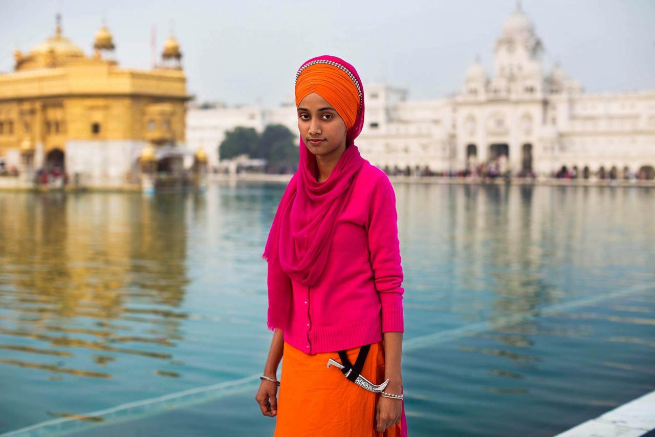 Mihaela Noroc templo dorado Amritsar India