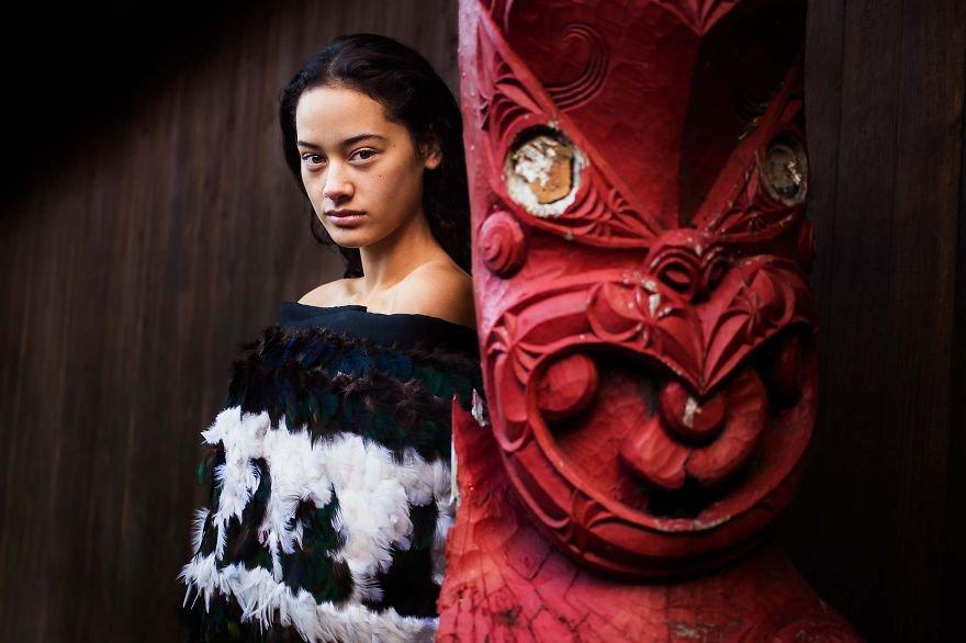Mihaela Noroc templo maori nueva zelanda