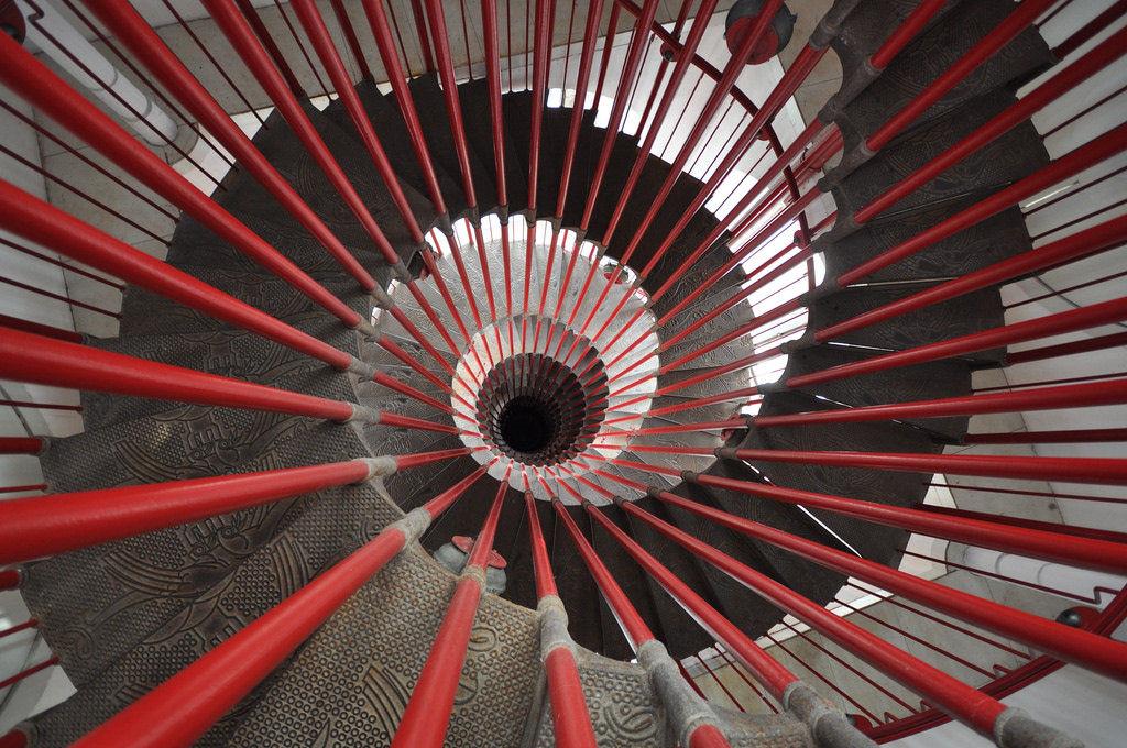 escaleras castillo liubliana eslovenia