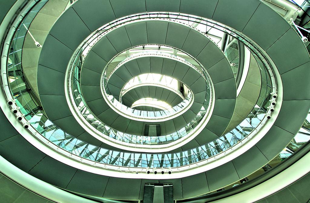 escaleras london city hall