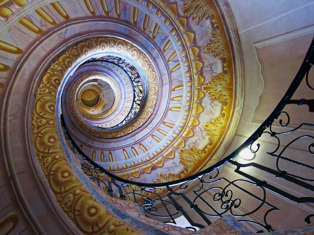 escaleras monasterio melk