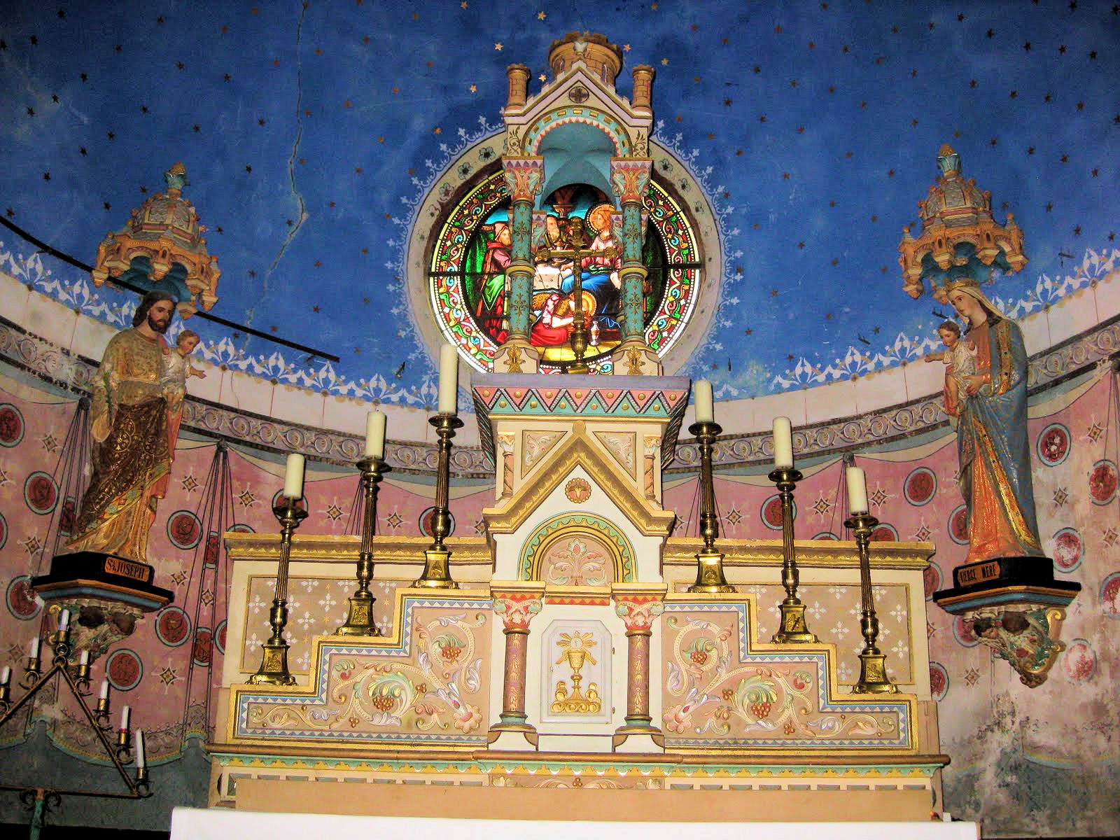 altar rennes chateau