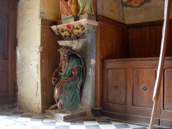 capilla rennes chateau pila asmodis