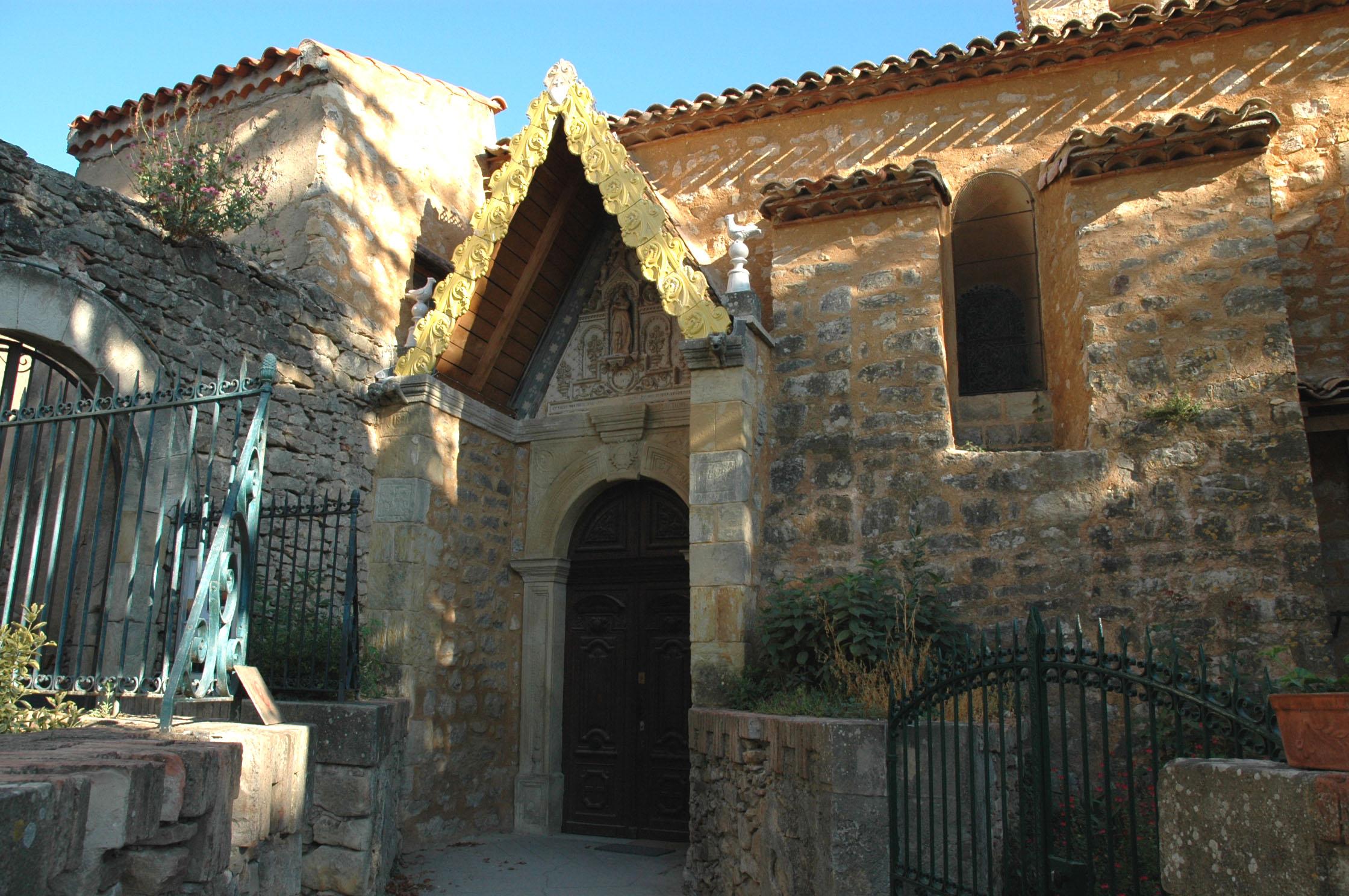 capilla rennes chateau