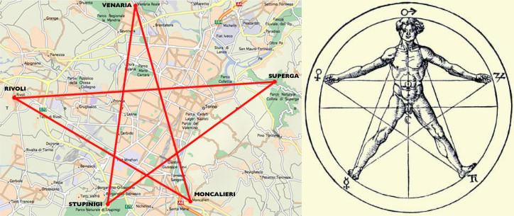 pentaculo pentagono turin