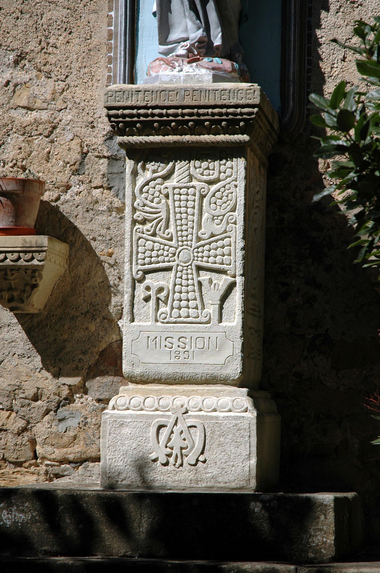 pilar visigotico rennes chateau