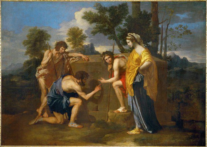poussin pastores arcadia ego