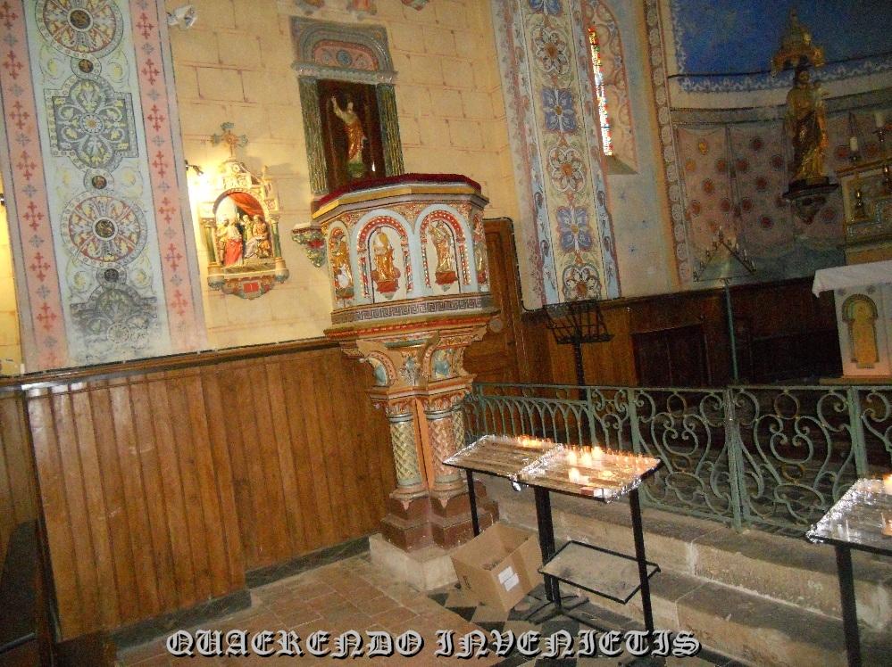 pulpito rennes chateau