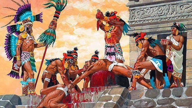 aztecas ritual