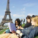 Curso de frances en una escuela en Francia