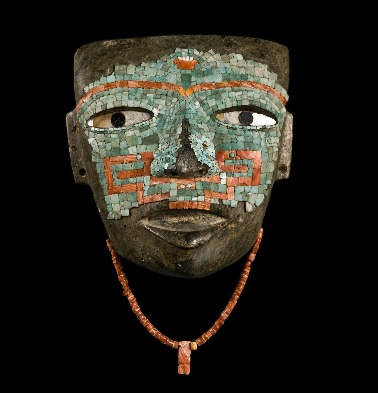 mascara teotihuacan museo mexico