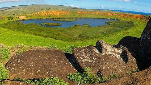 Rano Raraku moai pascua