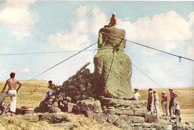 Thor Heyerdahl aku moai