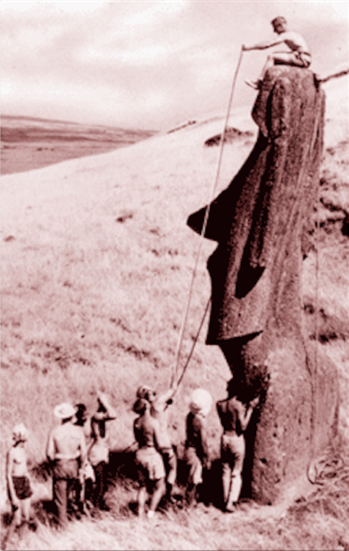 Thor Heyerdahl rapa nui pascua