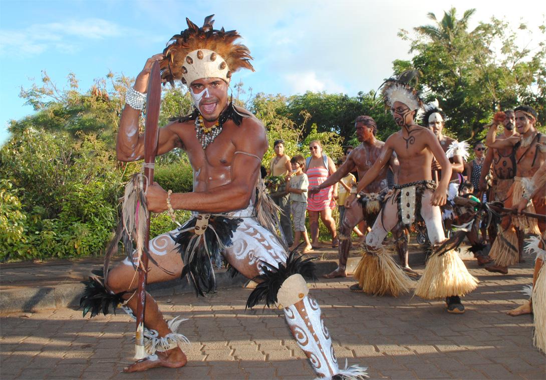 bailarin rapa nui isla pascua