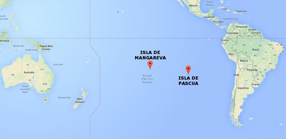 isla pascua rapa nui oceano pacifico