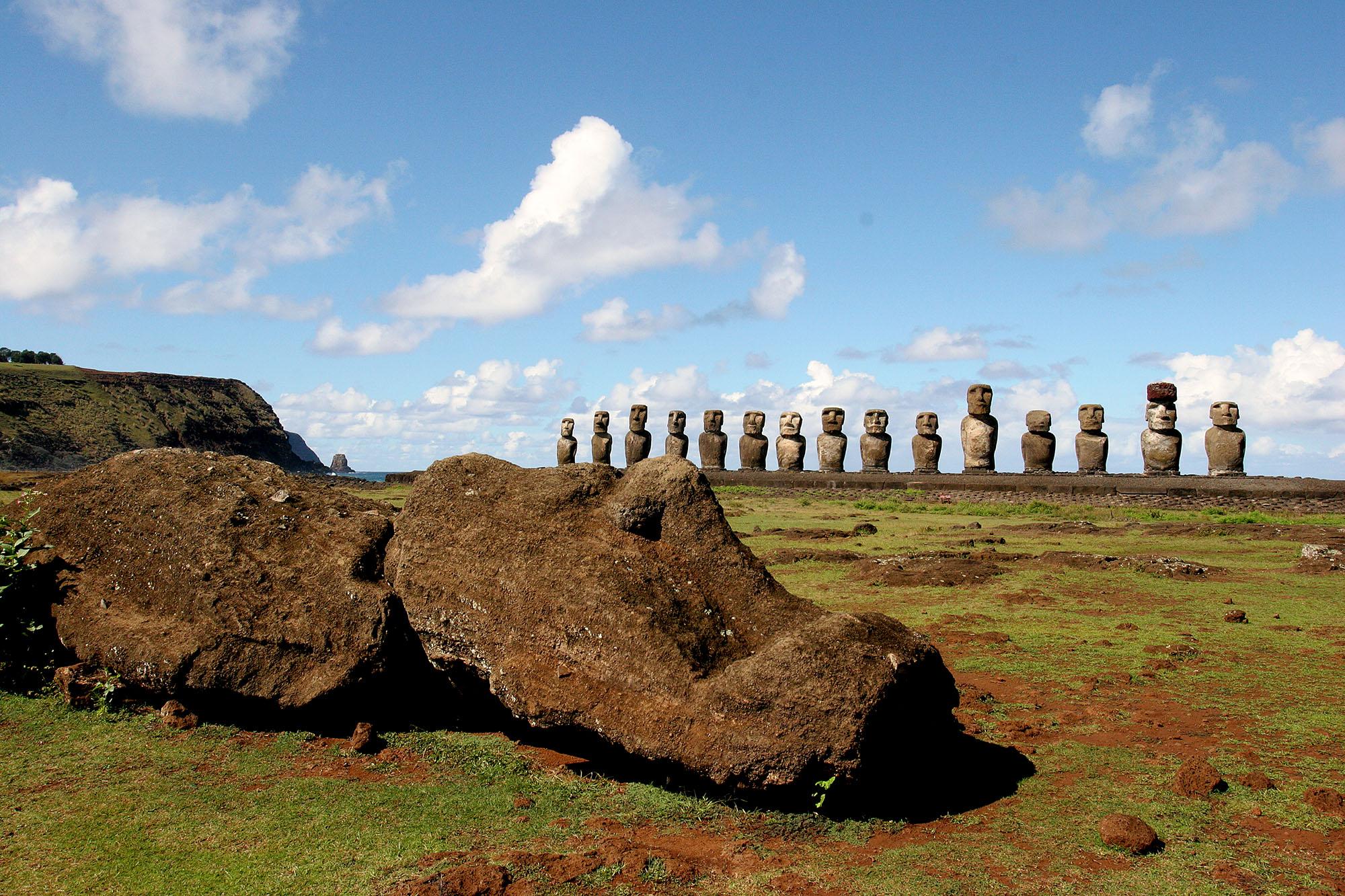moai tongariki ahu