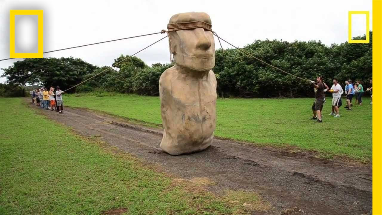 national geografic desplazar moai