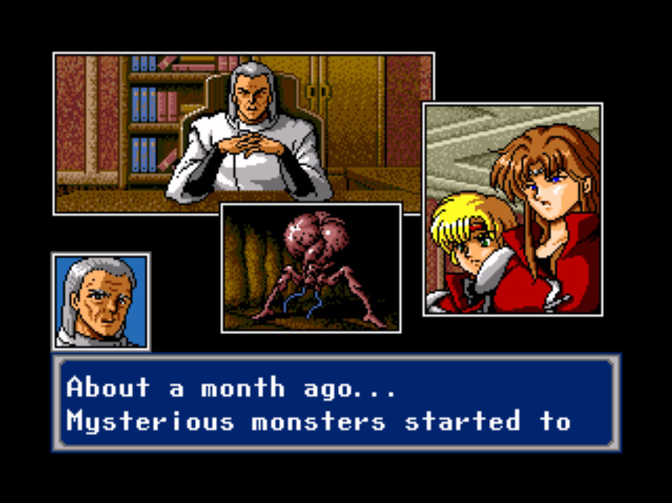 phantasy star IV 4 anime