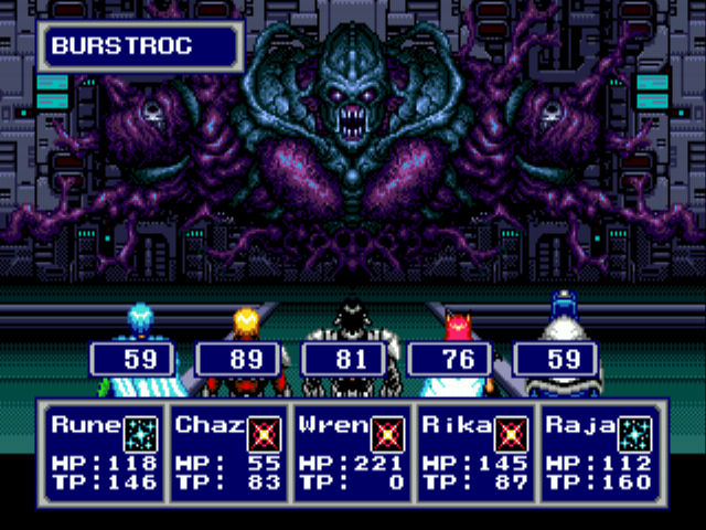 phantasy star IV 4 genesis