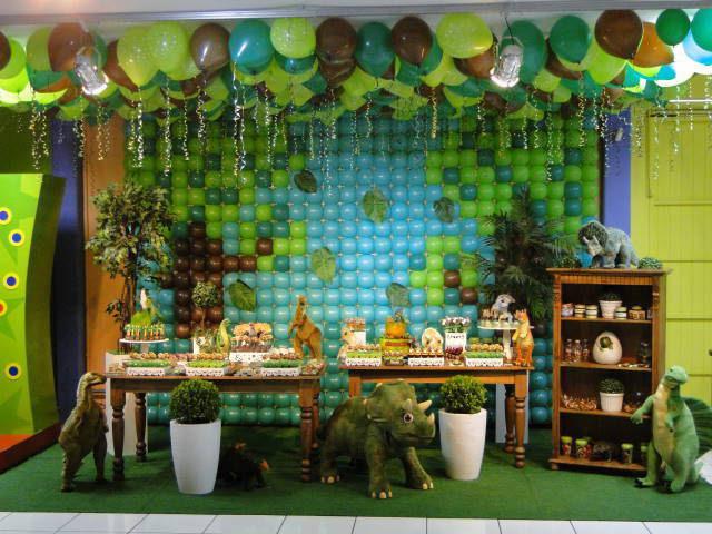 decoracion fiesta infantil dinosaurios