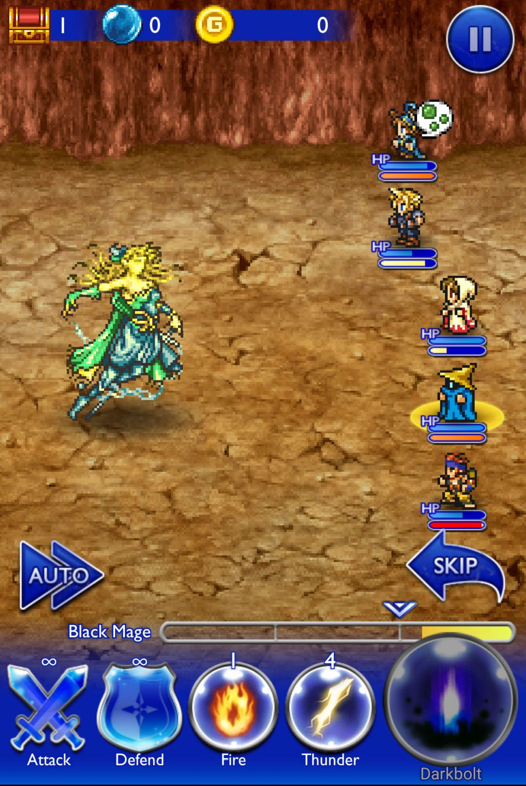 final fantasy record keeper batalla