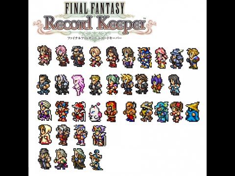 final fantasy record keeper personajes