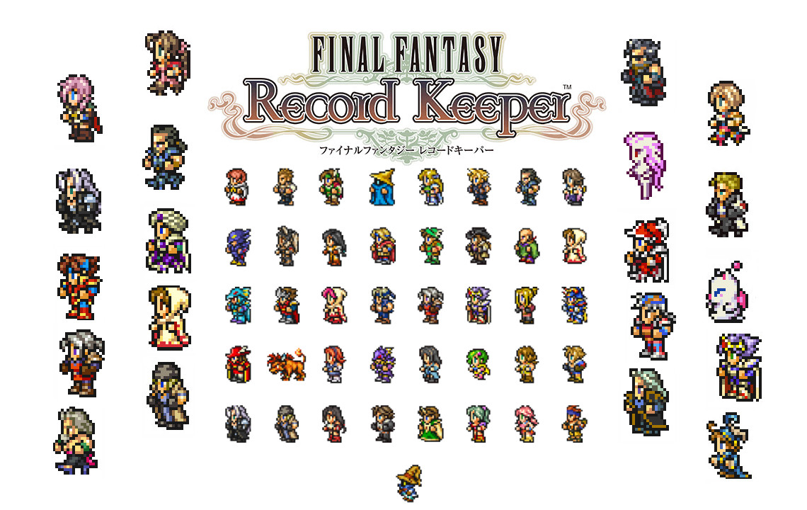 final fantasy record keeper wallpaper
