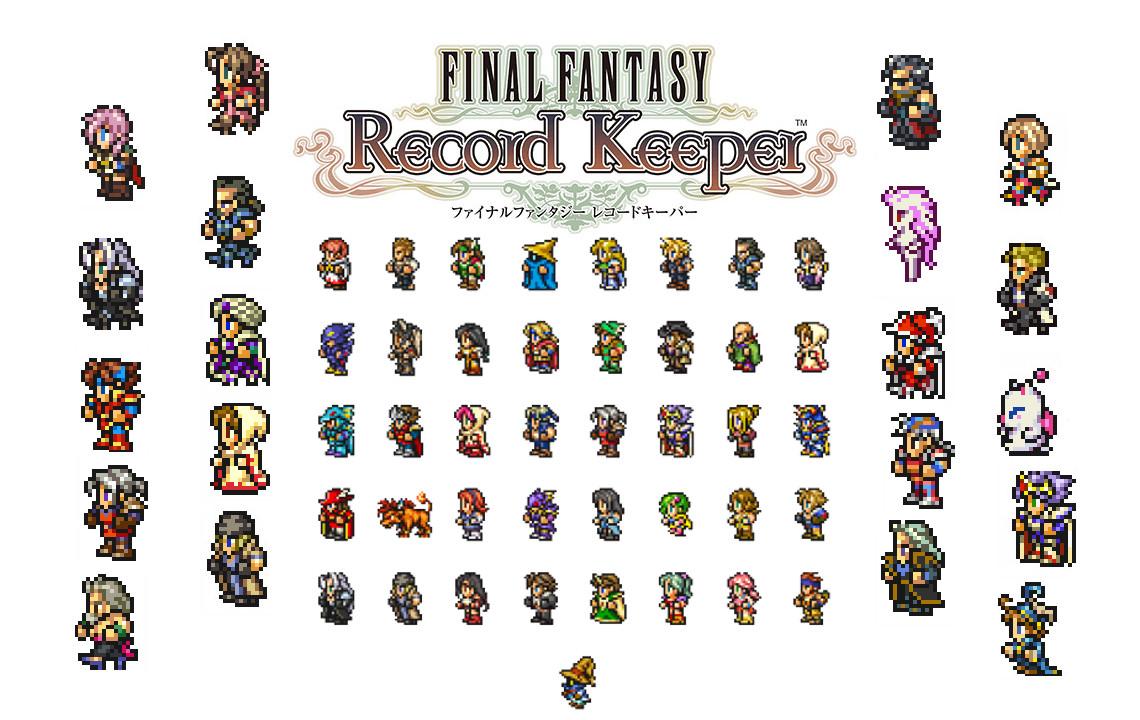 final fantasy record keeper wallpaper
