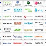 Lista de marcas populares de móviles