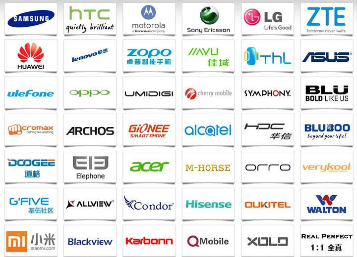 marcas moviles celulares