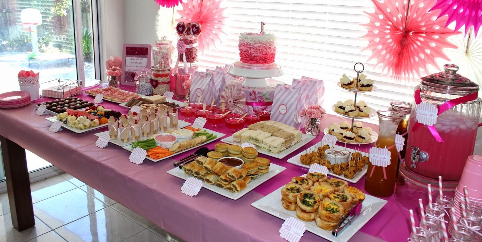 buffet fiesta infantil